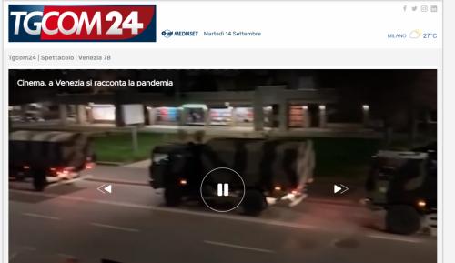 VIDEO: TgCom24 - Cinema, a Venezia si racconta la pandemia